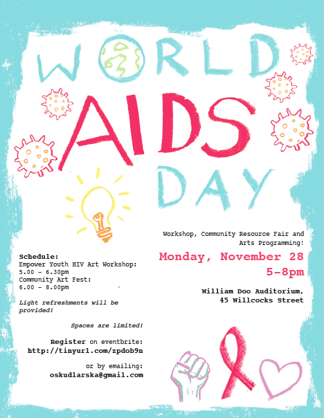 World AIDS Day Flyer, 2016