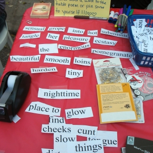 erotic poetry as outreach
